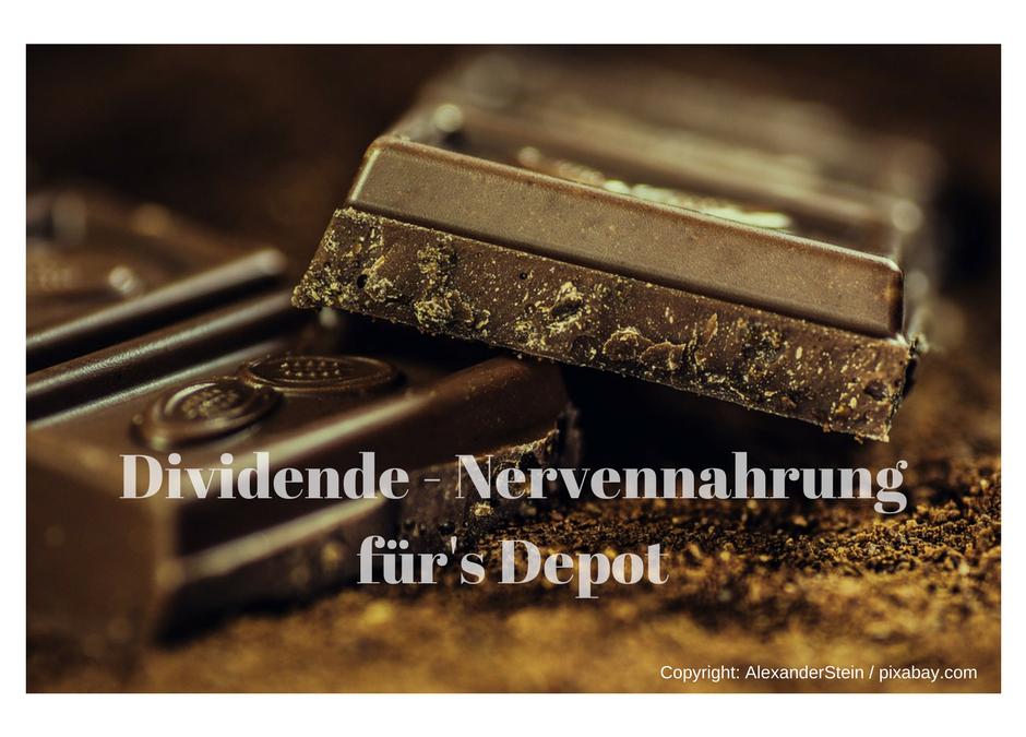 Dividenden: Nervennahrung für's Aktiendepot