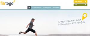 robo-advisor webseite fintego als screenshot