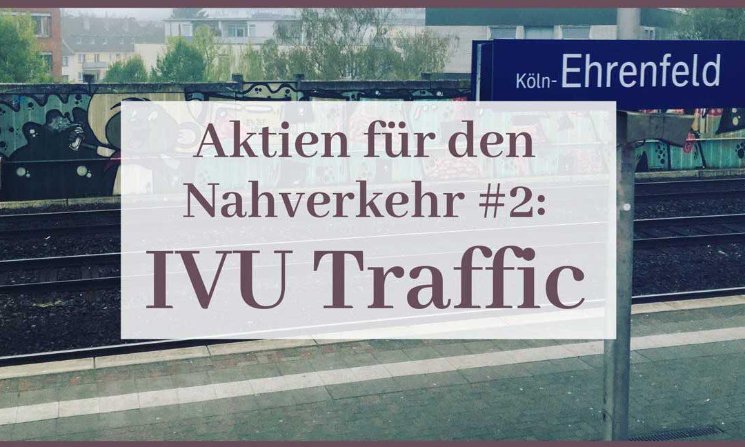 Aktien für den Nahverkehr: IVU Traffic