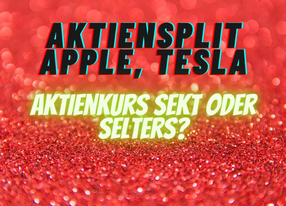 Aktiensplit: Apple, Tesla, wer ist der Nächste?